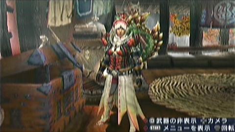 四面楚歌×双剣(30分32秒)装備画面