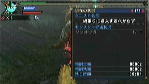 双剣×ジンオウガ(10分06秒)手数微妙