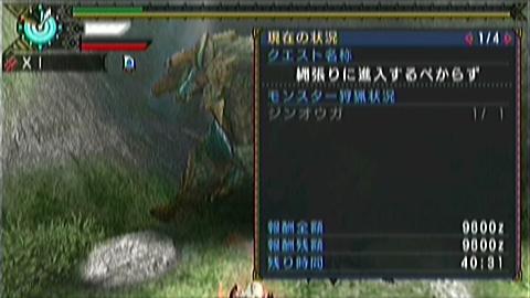 双剣×ジンオウガ(9分29秒)被弾ばっか