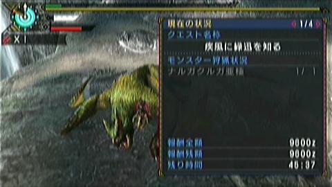 猫火事場双剣×ナルガ亜種(4分23秒捕獲)