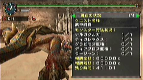 双剣×武神(2ティガ討伐41分01秒)