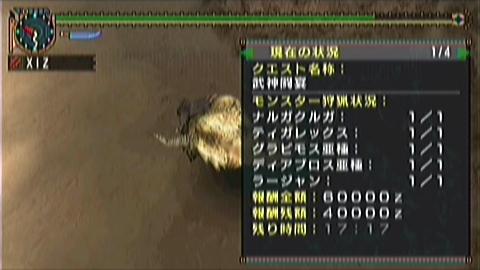 双剣×武神(5.5ラー討伐17分17秒)