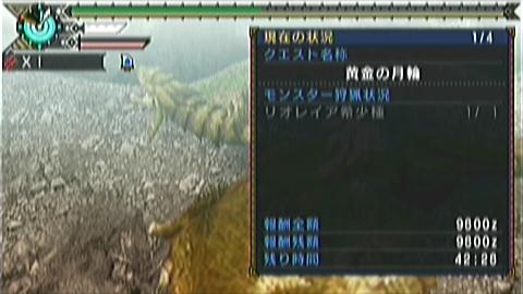 双剣×金レイア(7分34秒)タイム