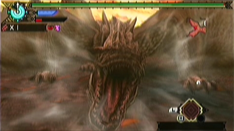 双剣×ティガ亜種(6分38秒)発見時咆哮