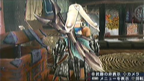 双剣×ティガ亜種(6分38秒)装備画面 双剣