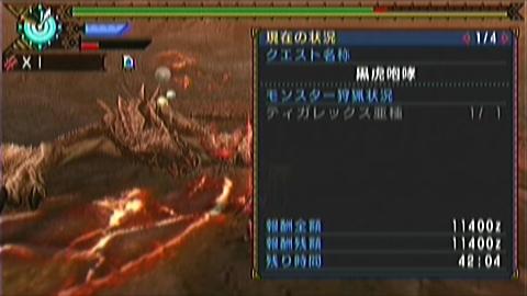 双剣×ティガ亜種(7分56秒)