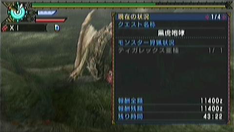 双剣×ティガ亜種(6分38秒)