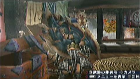 双剣×黒ディア 覇双画面