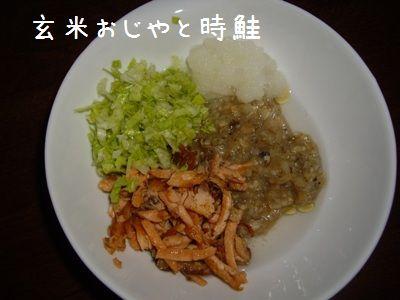 エビご飯 時鮭