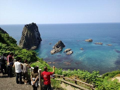 島武意海岸090705