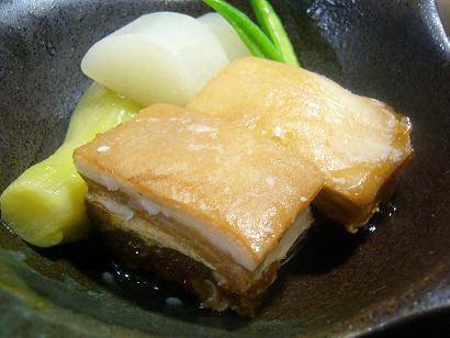 芋豚と夏野菜炊き合わせ1 (1)