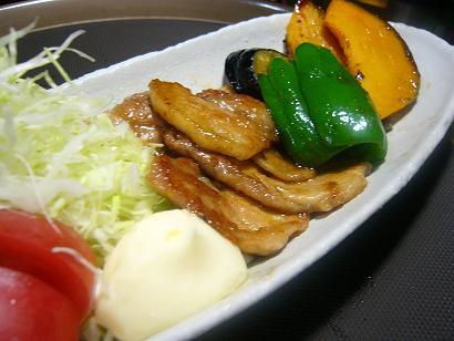 芋豚と新潟松之山の野菜 (2)