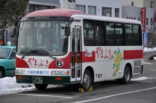 2011年1月29日 千曲市循環バス大田原線 やまぶき号