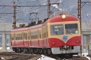 2011年1月29日 長野電鉄長野線 2000系D編成