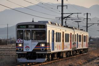 2011年1月29日 上田電鉄別所線 舞田~八木沢 1000系1003F 自然と友だち2号