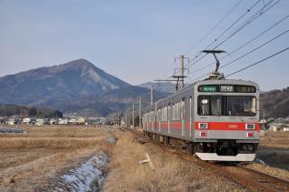 2011年1月29日 上田電鉄別所線 八木沢~舞田 1000系1001F