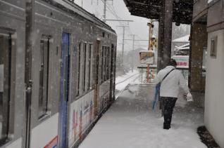 2011年2月11日 上田電鉄別所線 赤坂上 1000系1002F