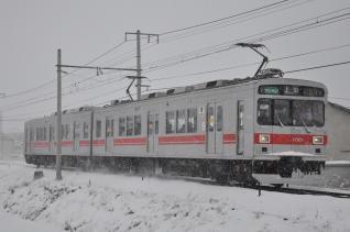 2011年2月11日 上田電鉄別所線 赤坂上~三好町 1000系1001F