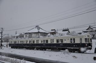 2011年2月11日 上田電鉄別所線 寺下~神畑 7200系7253F まるまどりーむ号
