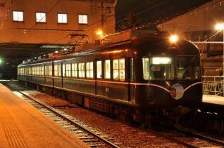 2011年2月11日 長野電鉄長野線 本郷 2000系A編成