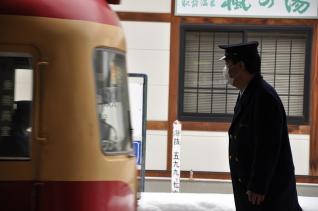 2011年2月14日 長野電鉄長野線 湯田中 2000系D編成