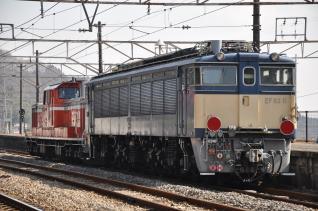 2011年2月21日 JR東日本 信越本線 横川 EF63-11甲種輸送