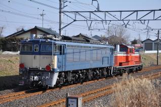 2011年2月21日 JR東日本 信越本線 西松井田~松井田 EF63-11甲種輸送