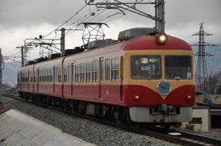 2011年2月25日 長野電鉄長野線 2000系D編成