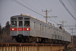 2011年2月26日 長野電鉄長野線 8500系T1編成