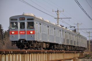 2011年2月26日 長野電鉄長野線 8500系T2編成