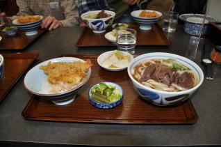 2011年2月26日 中村屋食堂 肉うどんセット