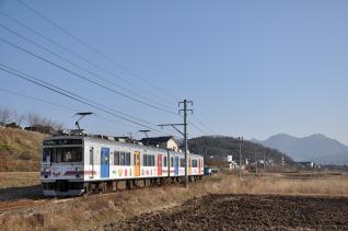 2011年2月26日 上田電鉄別所線 神畑~寺下 1000系1002F