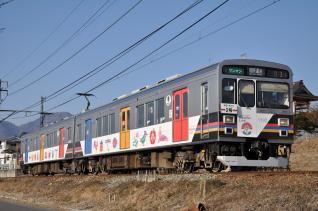 2011年2月26日 上田電鉄別所線 寺下~神畑 1000系1003F