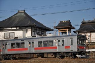 2011年2月26日 上田電鉄別所線 神畑~寺下 1000系1001F