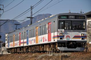 2011年2月26日 上田電鉄別所線 寺下~神畑 1000系1002F