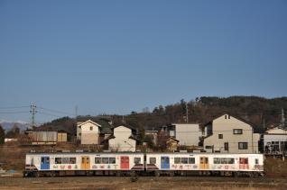 2011年2月26日 上田電鉄別所線 神畑~寺下 1000系1003F