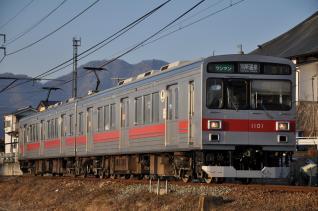 2011年2月26日 上田電鉄別所線 寺下~神畑 1000系1001F