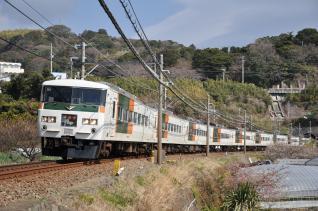 2011年2月27日 伊豆急行線 JR東日本185系A8編成