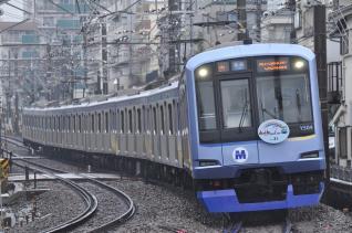 2011年3月7日 東急東横線 妙蓮寺~白楽 横浜高速Y500系Y514F