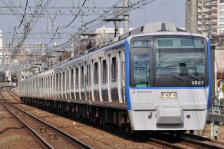 2011年3月9日 相模鉄道本線 9000系9707F