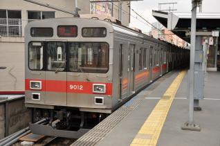 2011年3月23日 東急東横線 自由が丘 9000系9012F