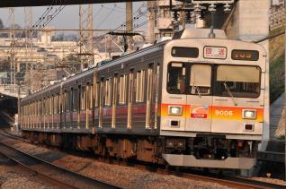 2011年3月25日 東急田園都市線 9000系9006F(大井町線送り込み)