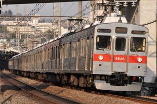 2011年3月25日 東急田園都市線 8500系8628F