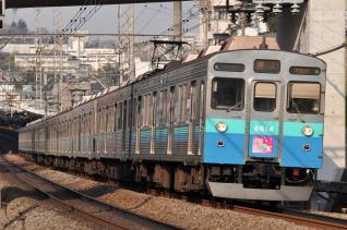 2011年3月25日 東急田園都市線 8500系8614F