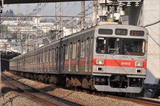 2011年3月25日 東急田園都市線 2000系2002F