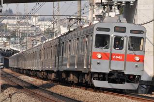 2011年3月25日 東急田園都市線 8500系8642F