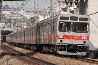 2011年3月25日 東急田園都市線 2000系2001F