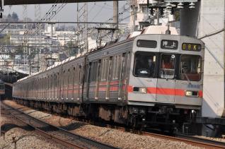2011年3月25日 東急田園都市線 8590系8695F