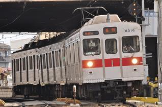 2011年3月27日 長野電鉄長野線 8500系T6編成