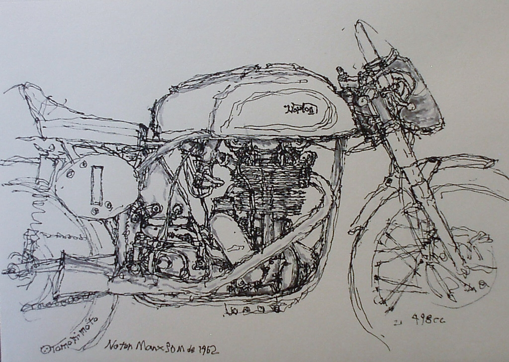 norton manx 30m 1962